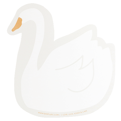 Swan Card | SHOP.LLK-C.com