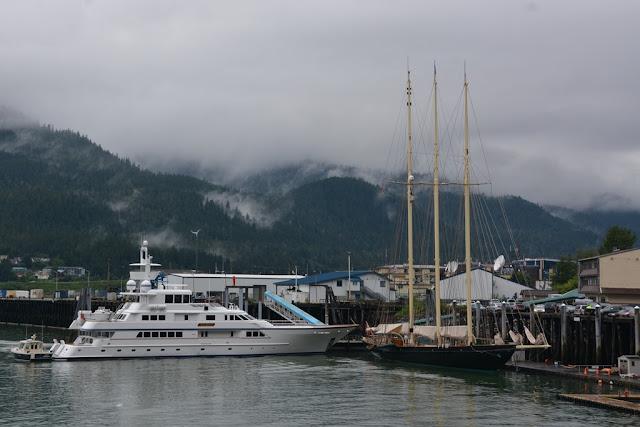 Juneau yacht