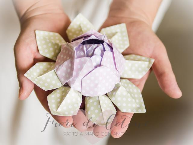 Top Fiori di Cotone: Un fiore di loto per presentarvi il mio piccolo Shop! BE47