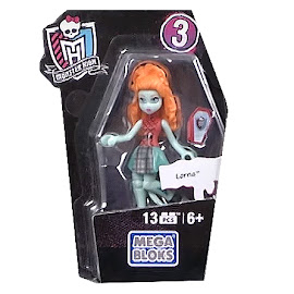 MH Ghouls Collection 3 Lorna McNessie Mega Blocks Figure
