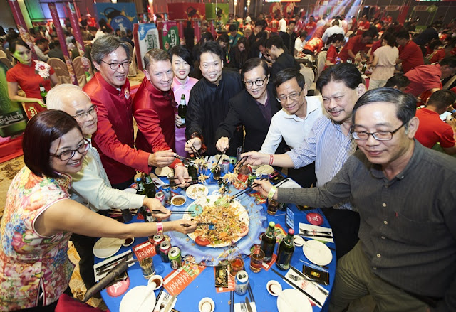 Lou Sang At Carlsberg Malaysia Chinese New Year 2019