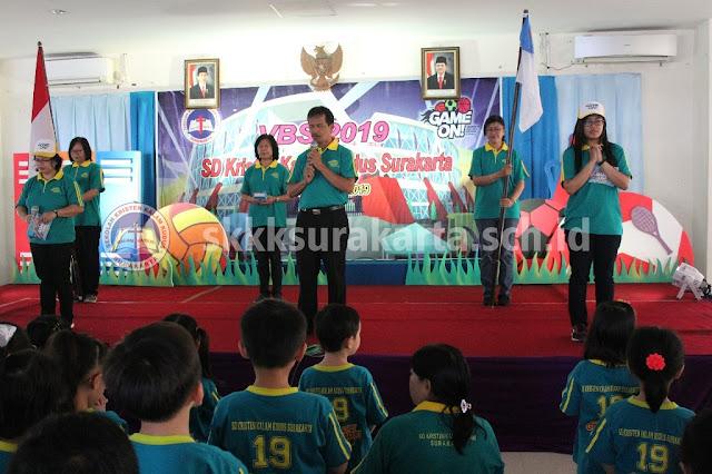 VBS SD Kristen Kalam Kudus Surakarta 2019 Day 1, Game On!