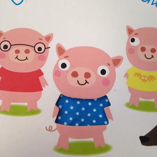 Les Trois Petits Cochons texture première de couverture
