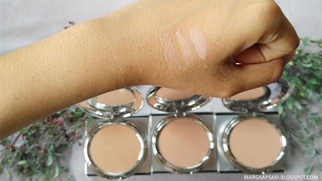 Shade warna ULTIMA II Delicate Creme Make Up