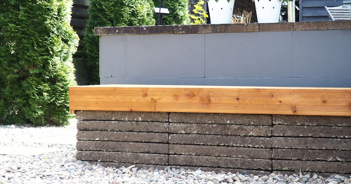 cutty home sch ner wohnen leicht gemacht gartenbank douglasienholz waschbetonplatten. Black Bedroom Furniture Sets. Home Design Ideas