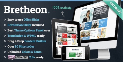 Bretheon v2.4.2 – Themeforest Premium WordPress Theme