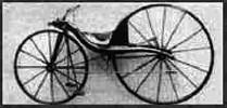 Primera bicicleta a pedales
