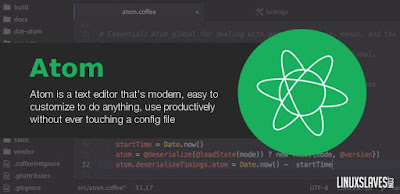 Atom best free text editor for programming