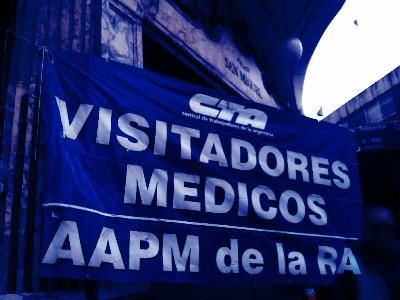 Visitadores Médicos reclaman ¡Firma de Paritarias Ya!