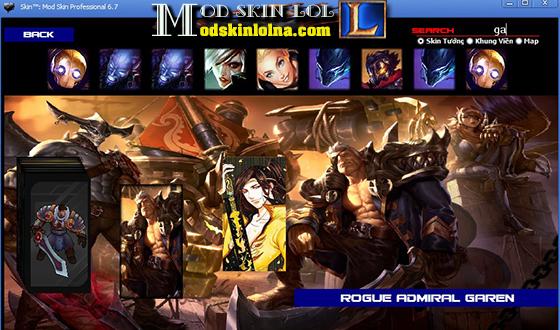 Mod Skin LOL Free Skin Riot - Mod Skin League of Legends