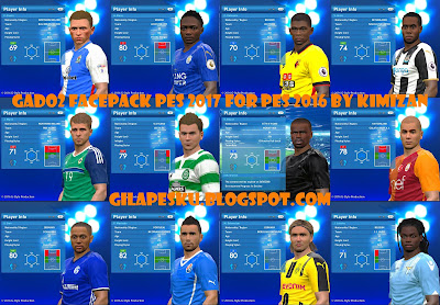 Gado-gado Facepack PES 2017 For PES 2016 By Kimizan