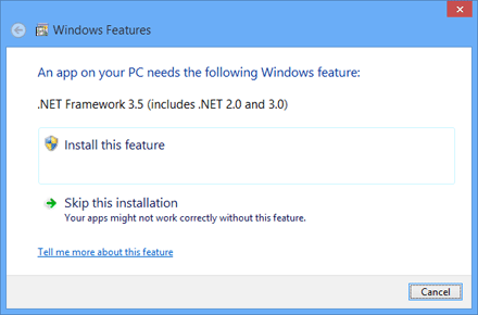 How To Install .Net Framework 3.5 (includes 2.0 and 3.0) Offline In Windows 8 and 8.1 Without Internet Connection | Technology Hub
