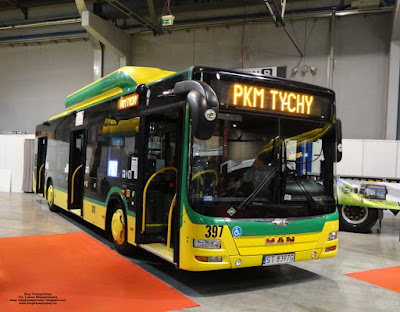 MAN Lion`s City CNG, PKM Tychy