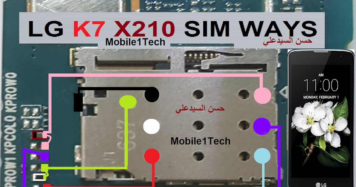 Lg K7 X210 Sim Ways
