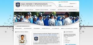 Source Code Website Sekolah PHP Mysql - Simple Native