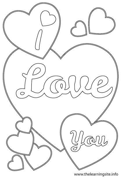 Coloring Pages Love You