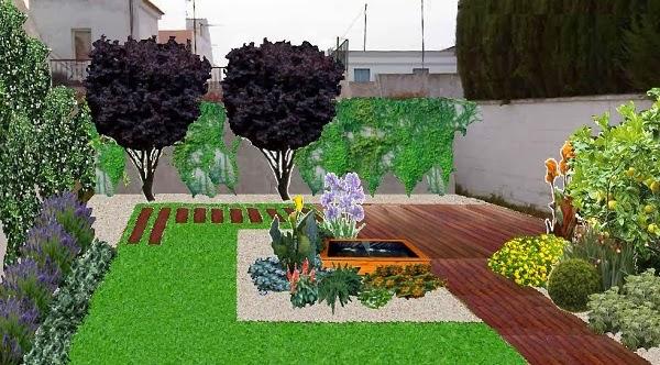 jardín opción 3