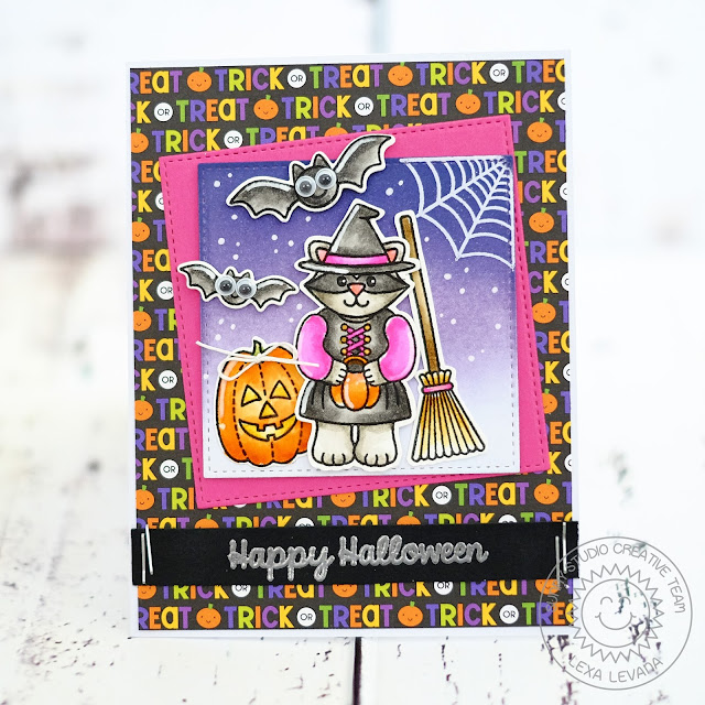 Sunny Studio Stamps: Halloween Cuties Card by Lexa Levana.