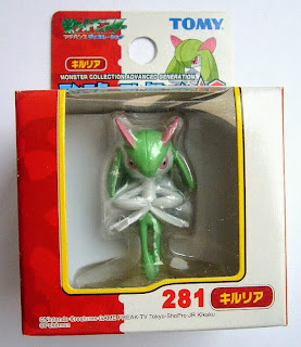 Kirlia Pokemon figure Tomy Monster Collection AG series