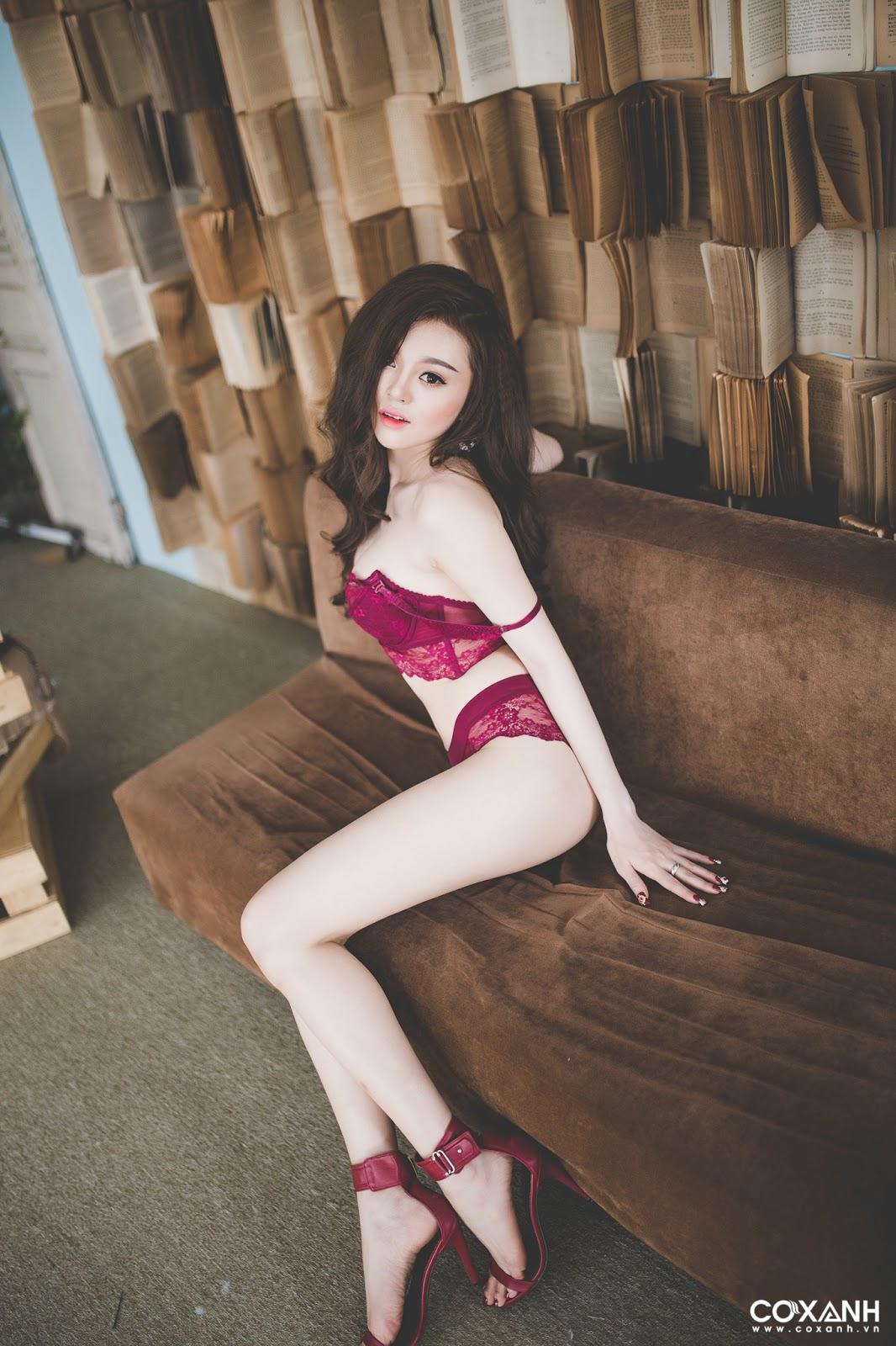 Bikini đỏ quyến rũ quá @BaoBua: Việt Nam Sexy Girl
