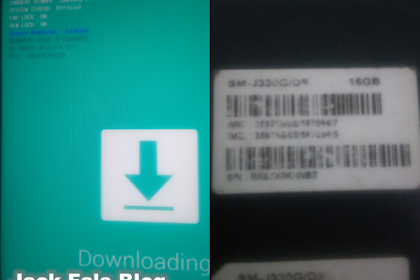 Cara Flash Samsung,Solusi Failed J3 Pro J330G (Tested)
