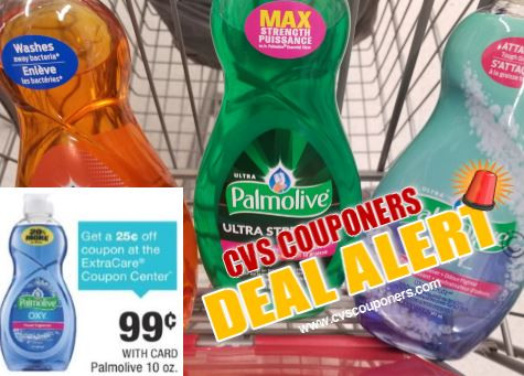 Palmolive CVS Coupon Deal - Only $0.64 - 519-525