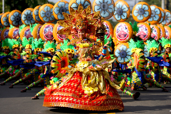 Contingent of Sinulog Festival