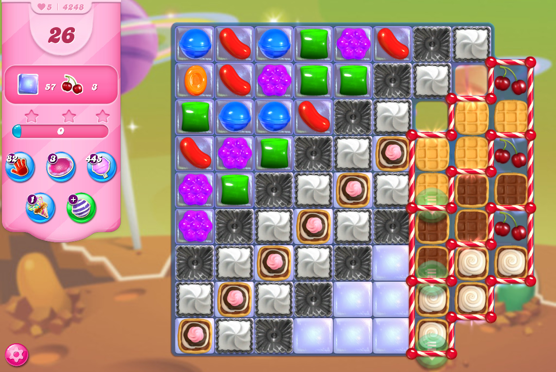 Candy Crush Saga level 4248