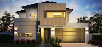Kumpulan Bentuk Fasad Rumah Minimalis Terbaru 2016 - 005