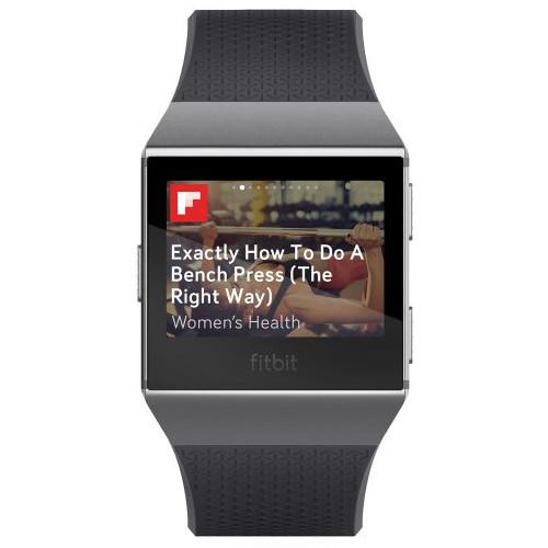 Flipboard App per Fitbit Ionic.