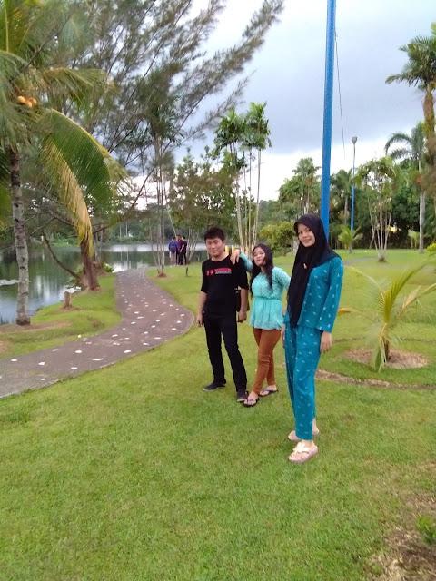 Pemandangan di luar kolam cadika (mau kearah kolam renang Citra wisata 2