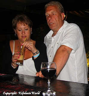 Andy and Lynn in Kefalonia