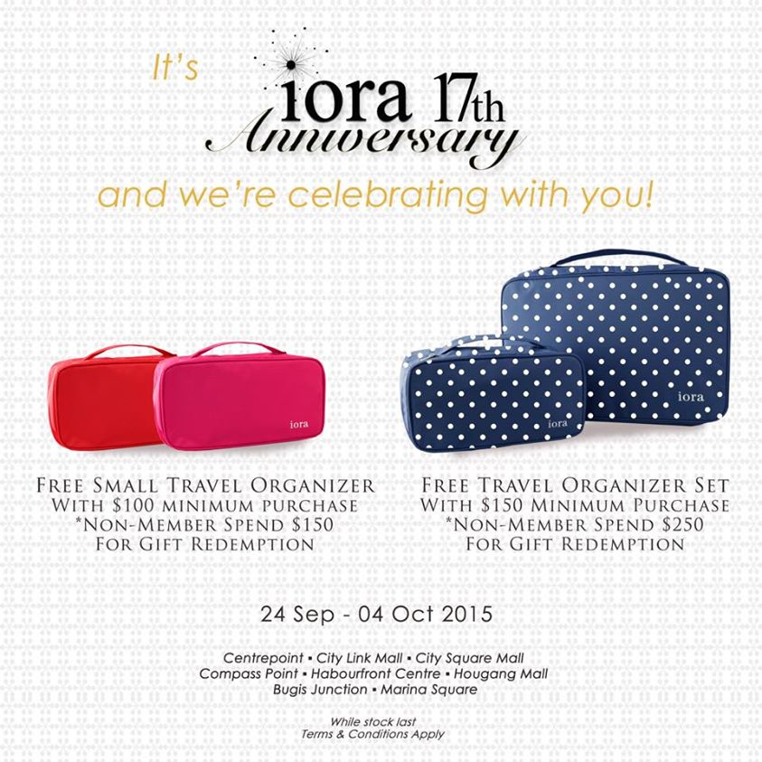 Traditional 17th Wedding Anniversary Gifts: Anniversary Promos: IORA Celebrates 17th Anniversary With