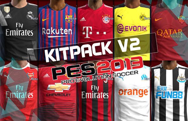 3f02f8dabf3 PES 2013 Kitpack New Season 2018-19 V2.0 - Micano4u