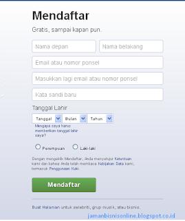 Cara Daftar Facebook / Bagaimana Membuat Akun Facebook Terbaru