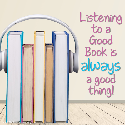 Listening to a good book is ALWAYS a good idea!