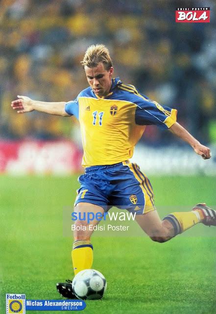 Poster Niclas Alexandersson (Swedia)