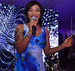 Actress Tonto Dikeh Reveals She's Looking To Clear Her Tattoos After She Claimed Being Born Again