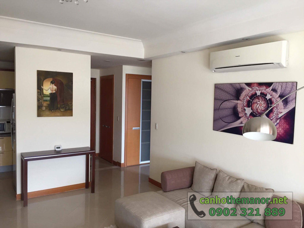 The Manor 1 Ho Chi Minh cho thuê căn hộ 2 phòng ngủ - hình 2