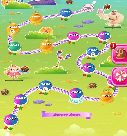 Candy Crush Saga level 6051-6065