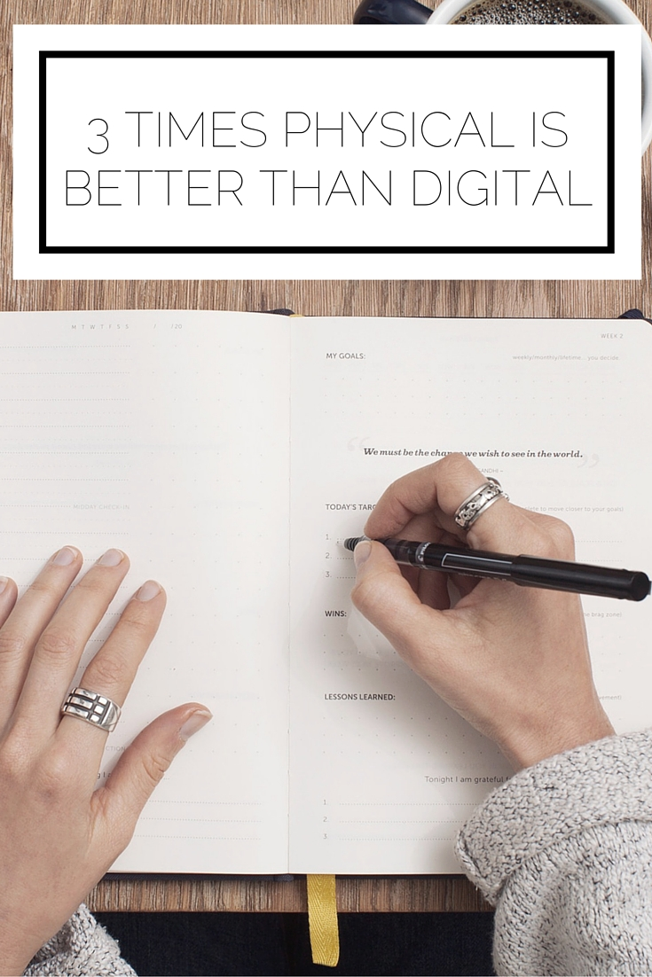 3 Times Physical Is Better Than Digital