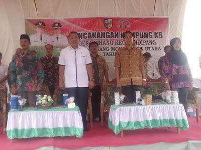 Desa Gihang Dicanangkan sebagai Kampung KB