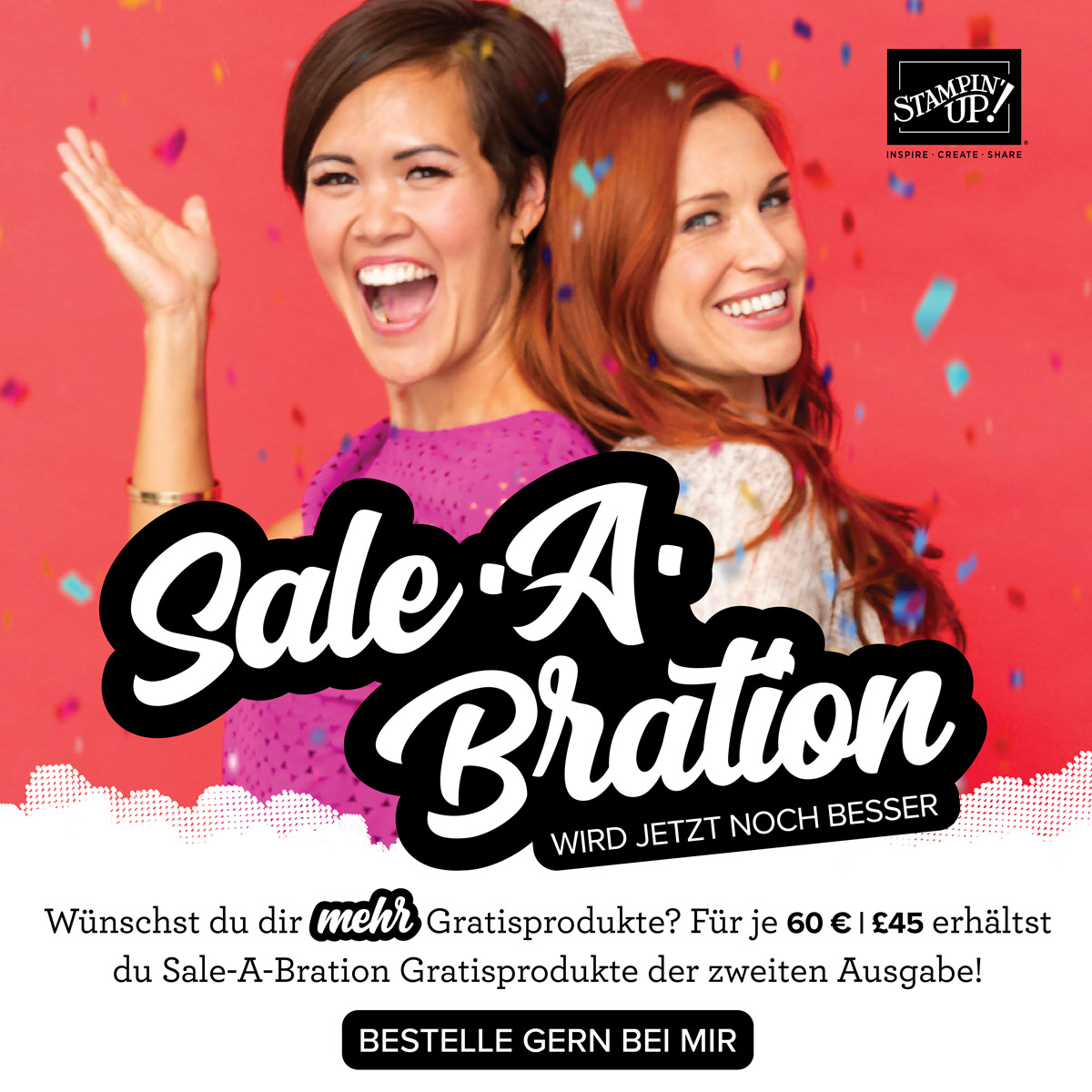 SALE-A-BRATION 2.Runde