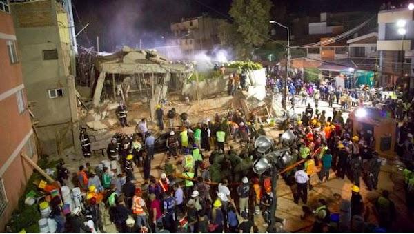 Recuperan 26 cuerpos del Colegio Enrique Rébsamen