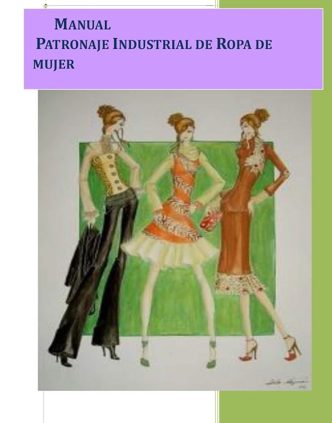 Descarga Manual de Corte y Costura, Patrones para ropa de mujer