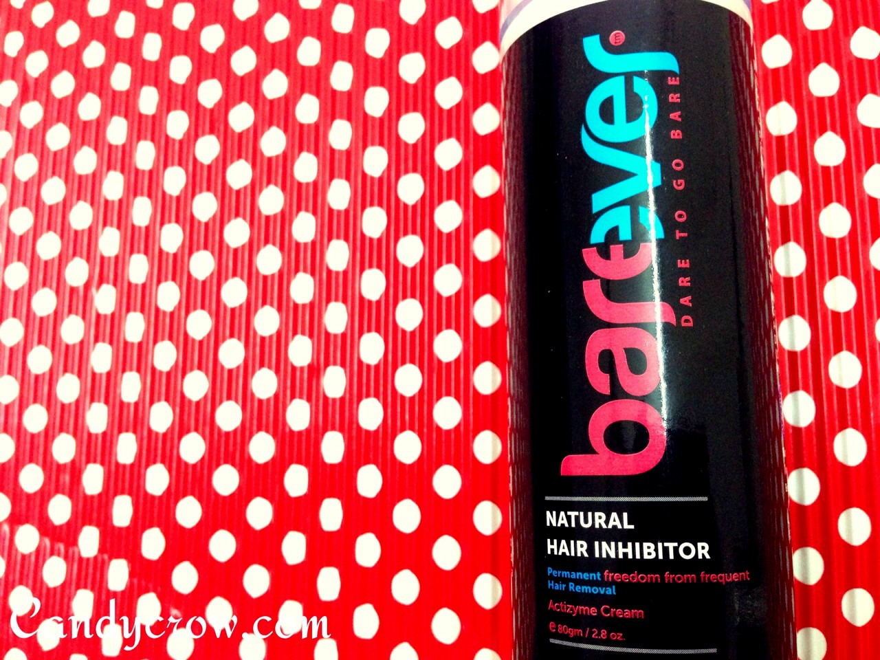 Barever Hair Inhibitor Review, permanent hair removal