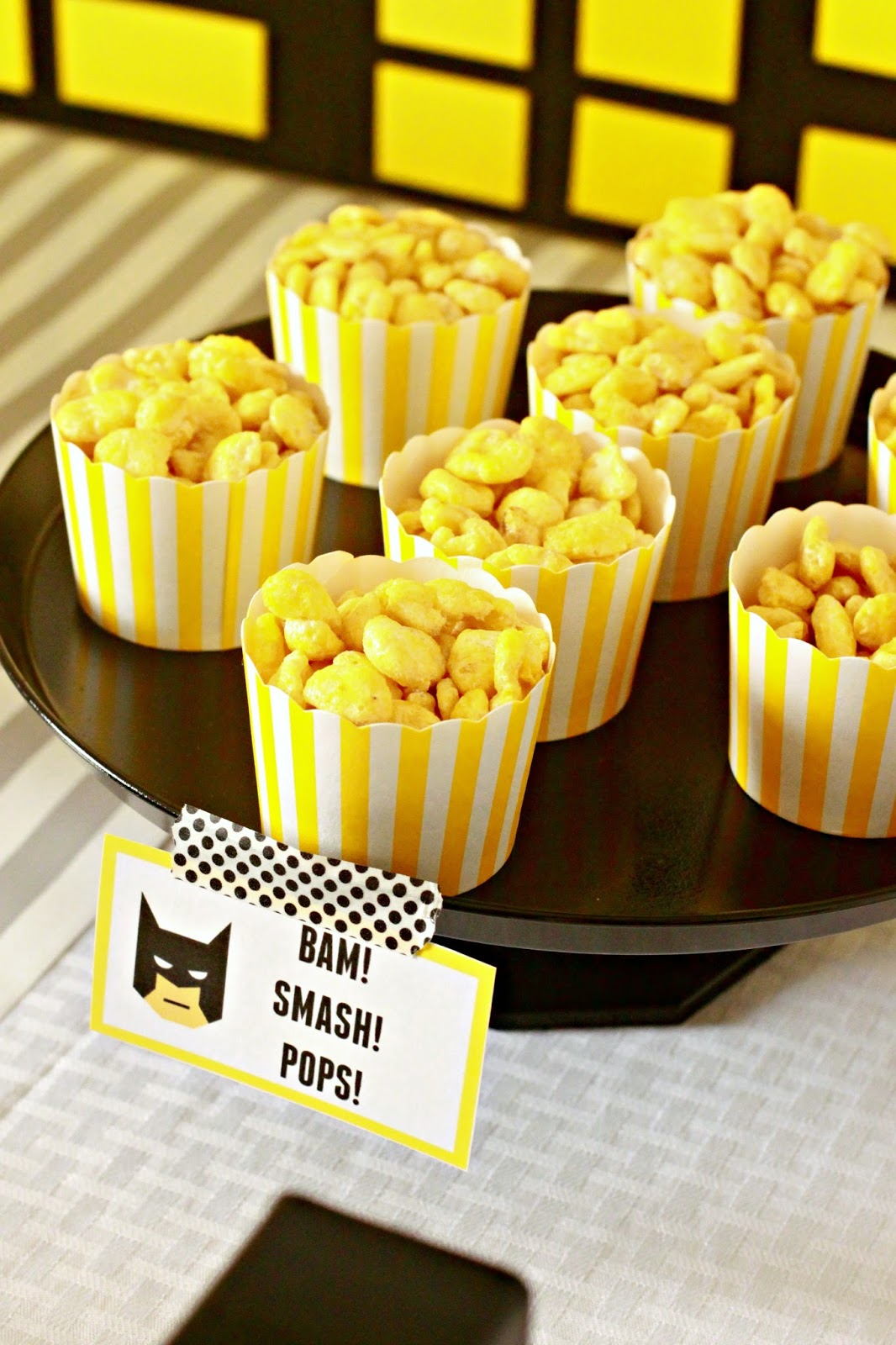 Larissa Another Day Batman Birthday Party