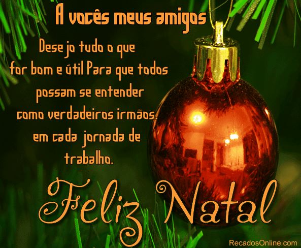 Mensagem de Natal para Amigos