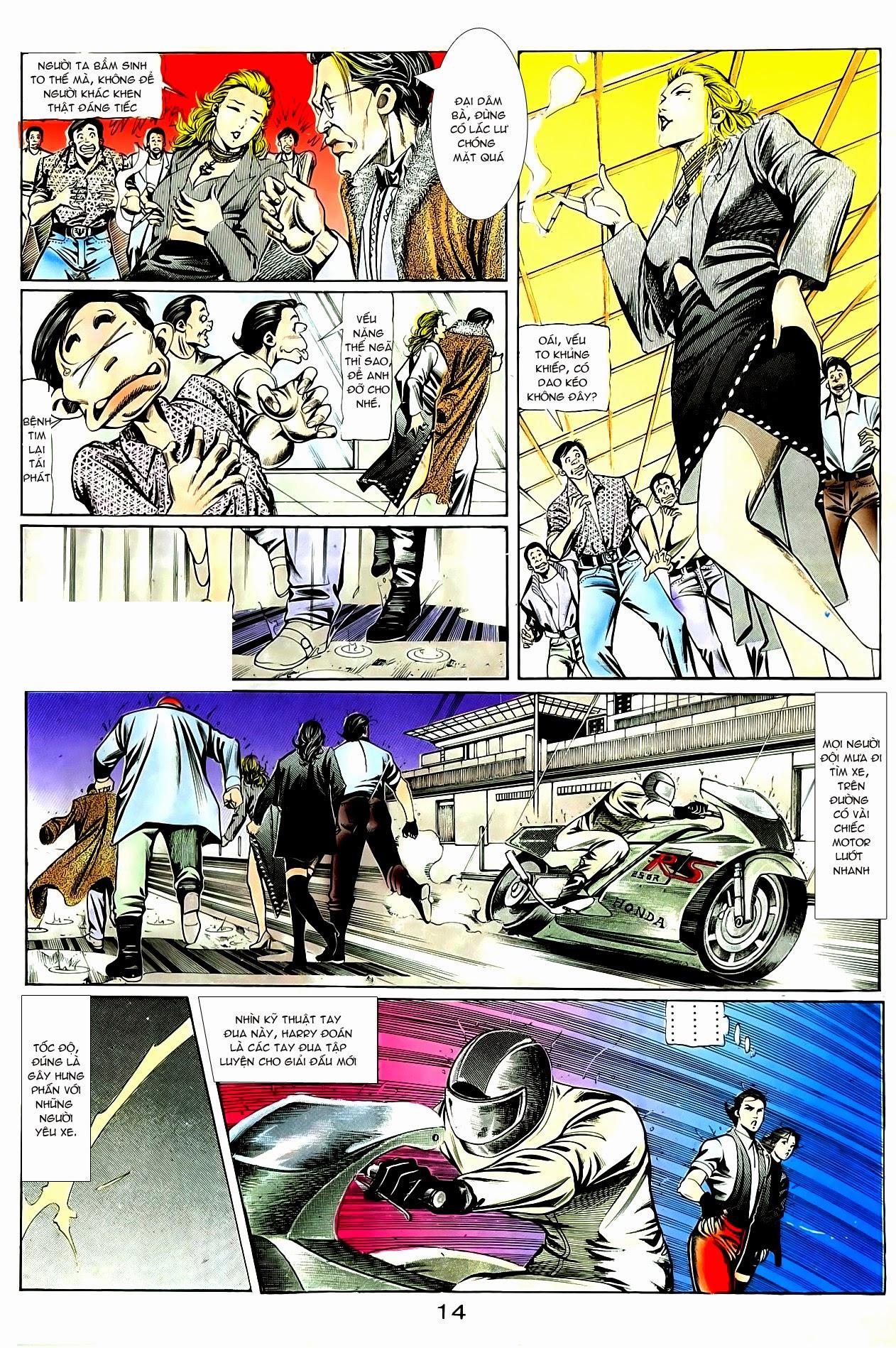 Người Trong Giang Hồ chapter 84: đỗ vương hạ tân trang 18