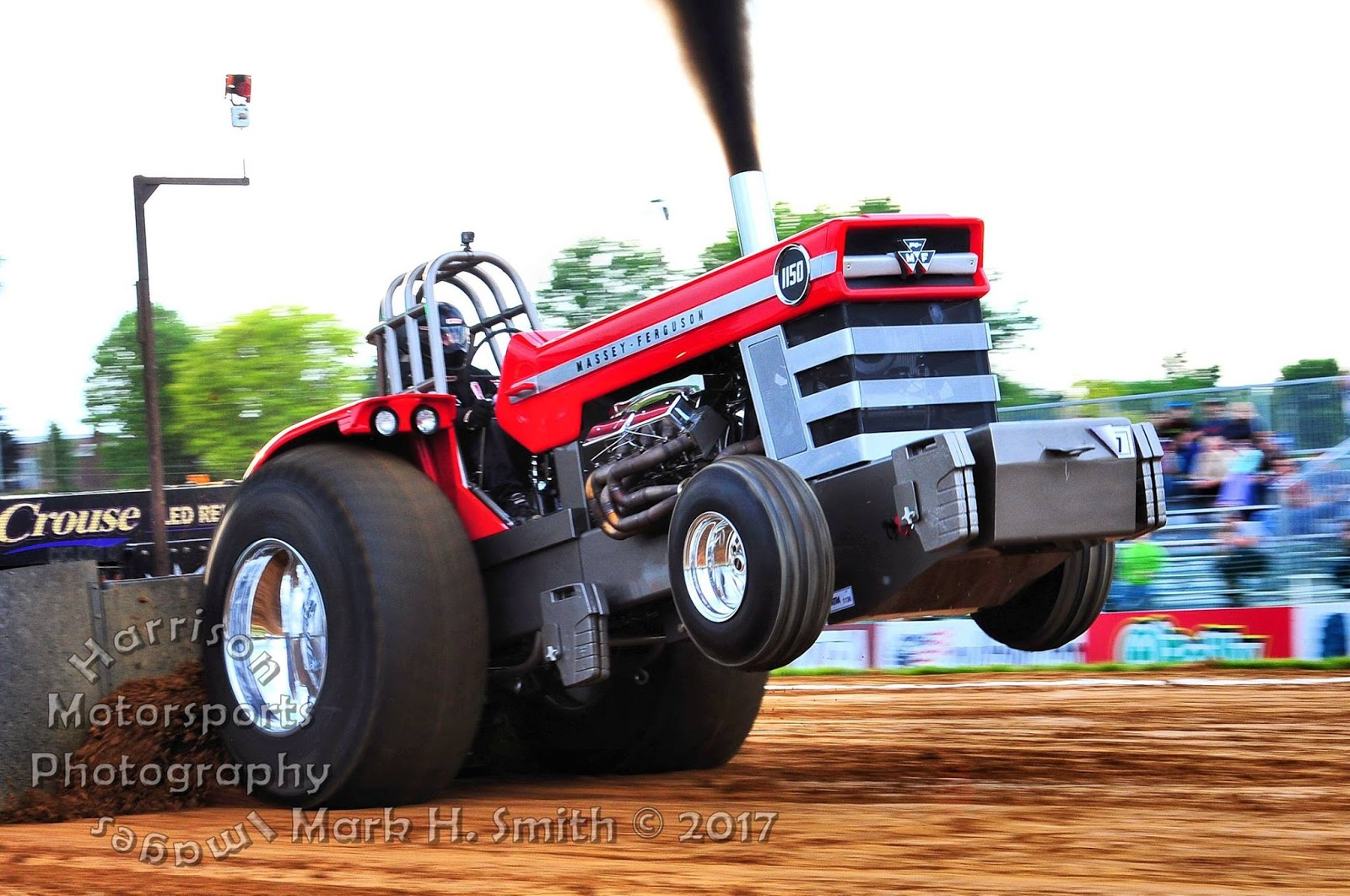 Pro Stock Garden Tractor Puller : Tractor pulling news pullingworld new mf light